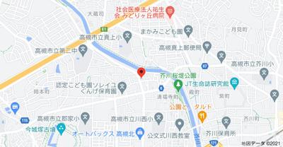 【地図】清福寺町貸家 (株)Roots
