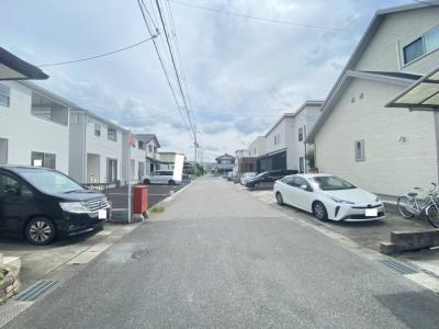 【前面道路含む現地写真】クレイドルガーデン亀岡市大井町土田 第1