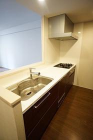【キッチン】オープンレジデンシア広尾II
