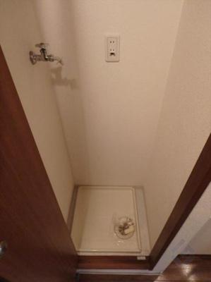 室内洗濯パン完備!!