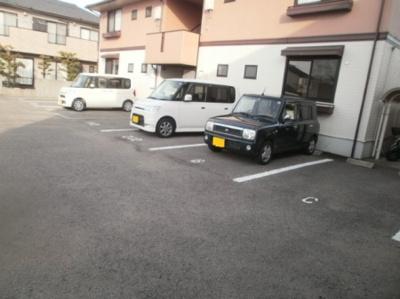 【駐車場】セジュールシマ A棟