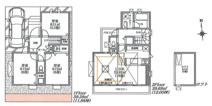 世田谷区上祖師谷2丁目 新築戸建て A号棟の画像