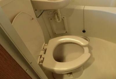 【トイレ】ドミシルアヤ十番館