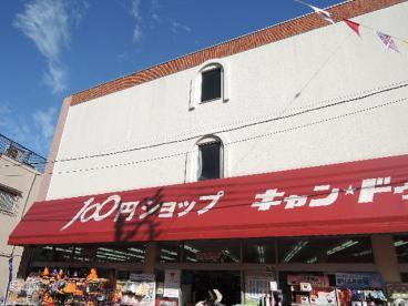 近くの商店街の100円ショップ