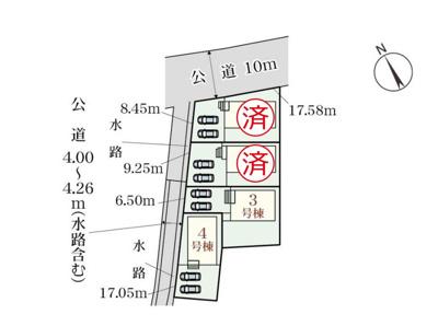 【区画図】Livele Garden.S 中川区富田町千音寺