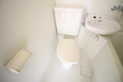 【トイレ】ラシーヌ三明町