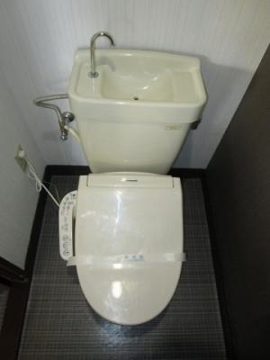 【トイレ】サンルビーササキ№1