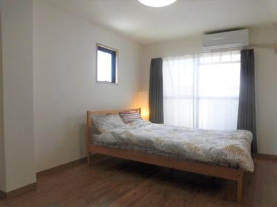 【寝室】シティメゾンサビ
