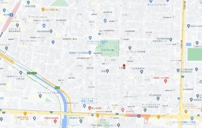 【地図】(仮称)大阪市旭区新森ヘーベルメゾン