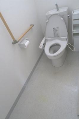 トイレは2カ所です