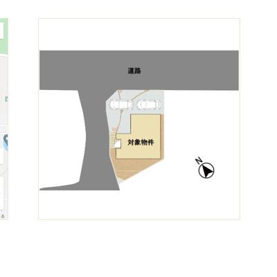 【区画図】大野城市大城四丁目