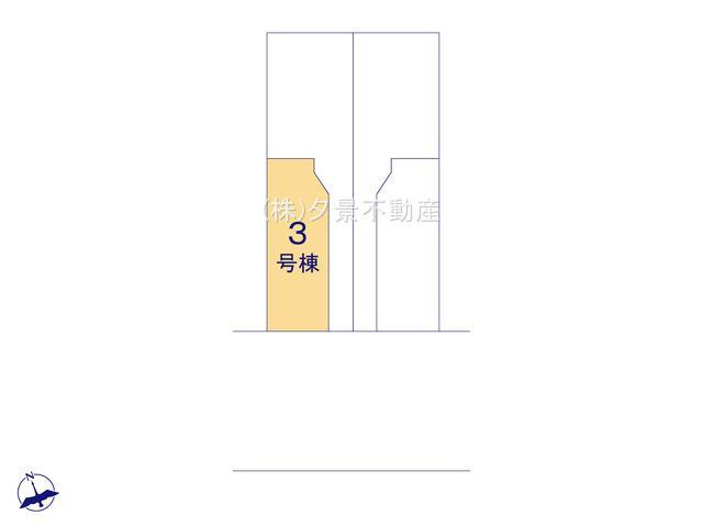 【区画図】戸田市喜沢1丁目15-42(3号棟)新築一戸建てケイアイスタイル