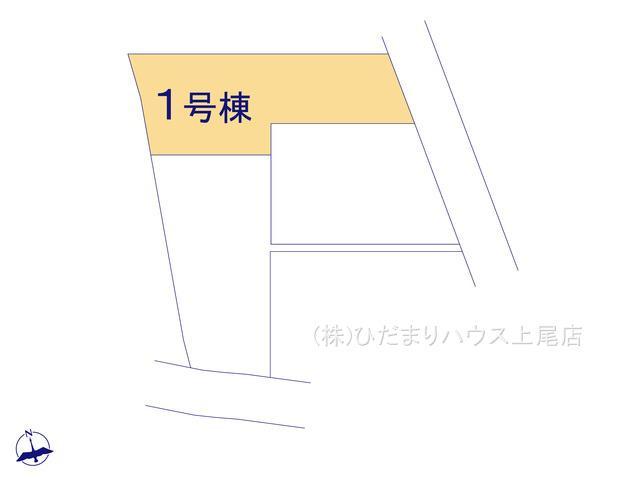 【区画図】鴻巣市鎌塚 新築一戸建て グラファーレ 01