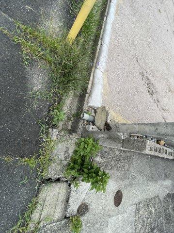 【前面道路含む現地写真】宇部市川添3丁目 土地(建築条件なし)