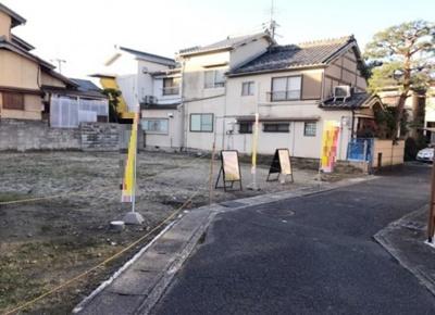 【前面道路含む現地写真】京都市左京区修学院水川原町