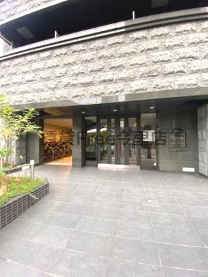 【エントランス】プレサンス大阪城公園ネクサス 仲介手数料無料
