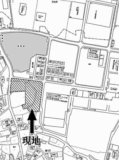 【地図】宇部市大字東岐波 大型事業用地