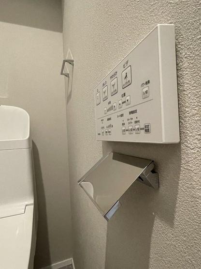 いつも綺麗に清潔に!ウォッシュレット付きトイレです