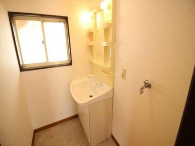 身支度に便利なシャワー付き化粧台です!