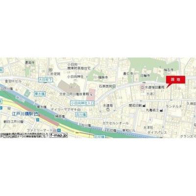 【地図】スカイコート文京小石川(スカイコートブンキョウコイシカワ)