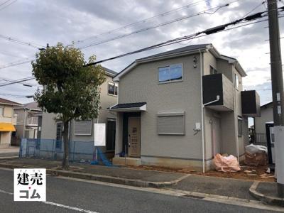 神戸市西区竜が岡3丁目第17 新築一戸建て 2021/8/30現地撮影