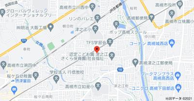 【地図】ステラカーサⅠ㈱Roots
