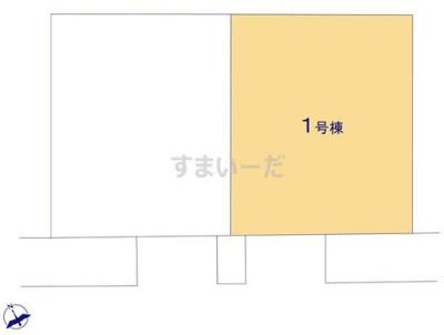 【区画図】リナージュ大津市下阪本21-1期