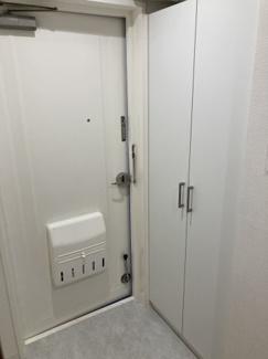 【玄関】クレスト南浦和