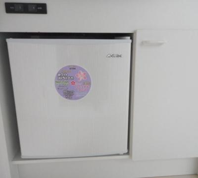 ミニ冷蔵庫付き☆