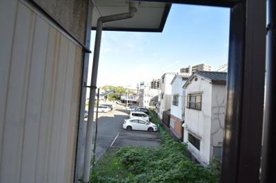 【展望】平野ハイツA棟