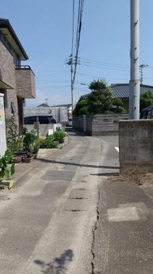 【前面道路含む現地写真】徳島市下助任町4丁目 土地