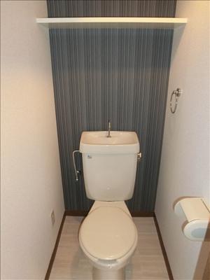 オシャレなトイレの空間になってます☆