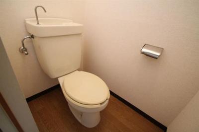 くつろげるトイレ♪
