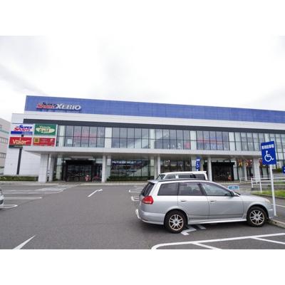 スーパー「バロー南松本店まで1104m」