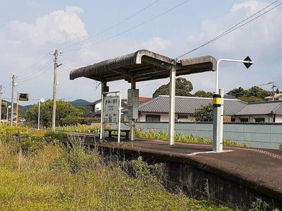 上伊万里駅まで600m