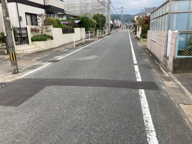 【前面道路含む現地写真】クレイドルガーデン西区田尻第3 1号 オール電化住宅