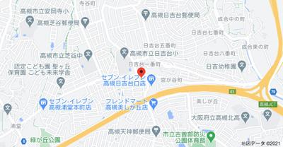 【地図】パレ・サンティール ㈱Roots