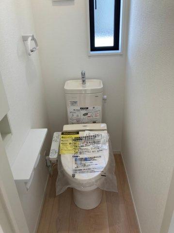 【トイレ】クレイドルガーデン糸島市加布里第6 2号棟4LDK
