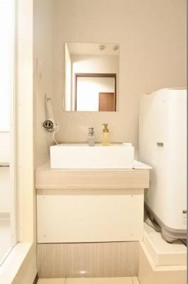 【独立洗面台】おおきに日本一ビル
