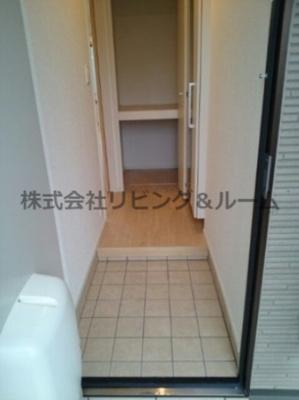 【玄関】コスパハイム