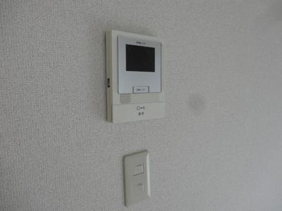 TVモニター付きインターホンでセキュリティも安心◎