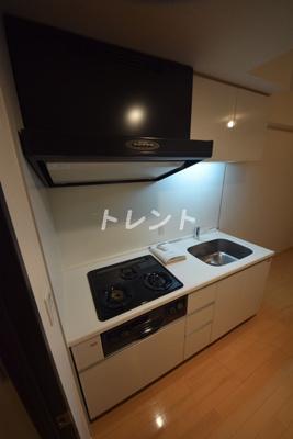 【キッチン】グレースレジデンス東京