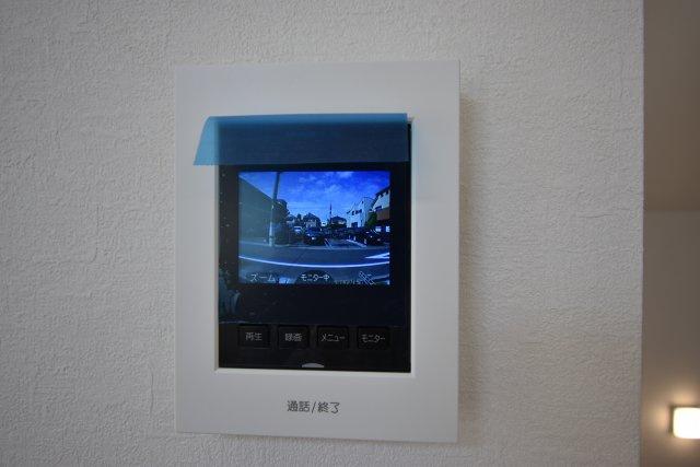 録画機能付きカラーモニターインターホン