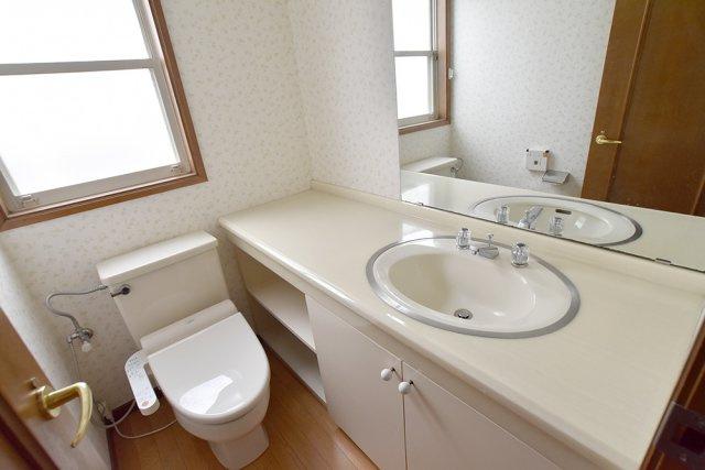 1階 洗面トイレ