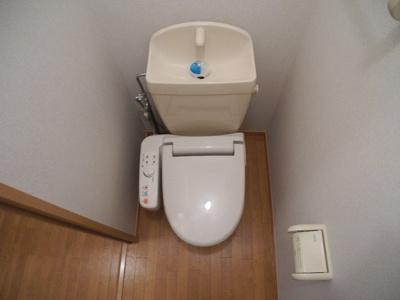 【トイレ】ビューコーポHARUⅢ