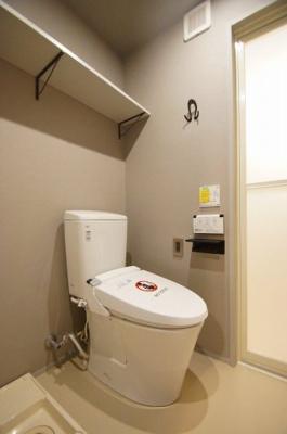 温水洗浄便座トイレです。