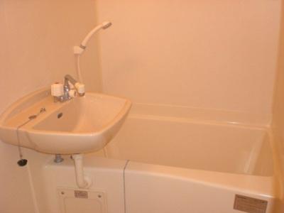 【浴室】レオパレスガーデンプレイス