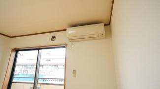 エアコン各部屋にあり
