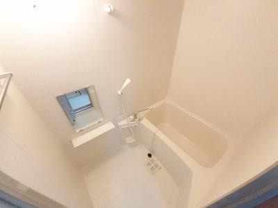 【浴室】プレジール若園Ⅰ