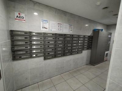 郵便受けも綺麗に管理されています。